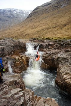 Triple Step, 2nd by jonathonpm, via Flickr | Whitewater kayaking in Scotland