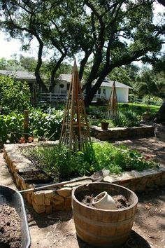 such pretty raised beds! | The Polished Pebble
