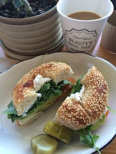Beauty's Bagel Shop - recommended by Michael