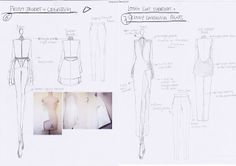 Fashion Sketchbook - fashion design sketches & design development - the fashion designer's creative process // HAN GU . Fashion Logo Design, Fashion Design Sketches, Sketch Design, Fashion Drawings, Fashion Designers, Fashion Collage, Fashion Art, Trendy Fashion, Vintage Fashion