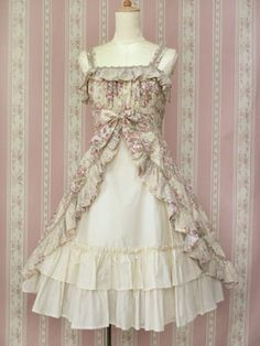 Victorian Maiden Rose Lace Ribbon Dress