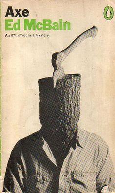 Axe by Ed McBain 1968. Cover photo by Tony Palladino
