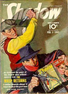 Shadow Magazine Cover