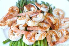 Steamed Shrimp and Asparagus (in the Instant Pot)
