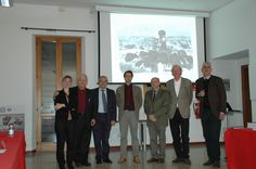 Luca Guido after getting the PhD with the Commission and mentors