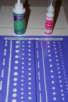Scrapbook Tip | Make Your Own Glue Dots | Scrapbooking | CraftGossip.com