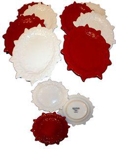 Christmas Plates S/8
