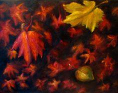Fall original oil painting by Natalja Picugina on ARTwanted