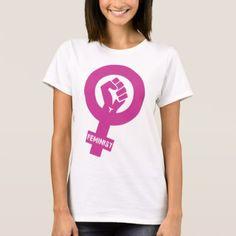 #feminist #tshirts - #Feminist Gender Rights Symbol T-Shirt