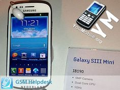 Exclusive: Samsung GALAXY S III Mini GT-I8190 Photo and Specs leaked | Josephws's Blog | YouMobile