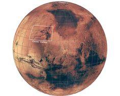 Kasei Valles, espectaculares canales en Marte. Más fotos aquí: http://www.muyinteresante.es/ciencia/fotos/kasei-valles-espectaculares-canales-en-marte/kasei-valles-1 #ciencia #ESA #Marte #Mars #science