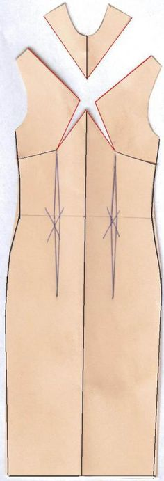 Use Darts to Create Sheath Dress Drama