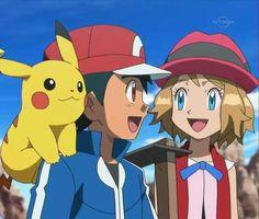 Dragon Ball Z, Satoshi Pokemon, Pokemon Ash And Serena, Ashes Love, We Make Up, Pokemon Special, Pokemon Pictures, Best Couple, Anime