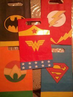 Bolsa, Cotillón Supers Héroes, Liga De La Justicia