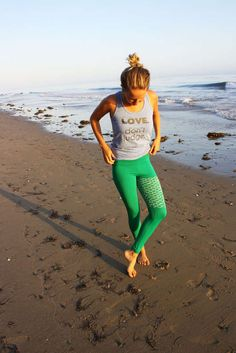 Mermaid-Inspired Active wear - These Yoga Wear Leggings are Designed to Look Like a Mermaid Tail