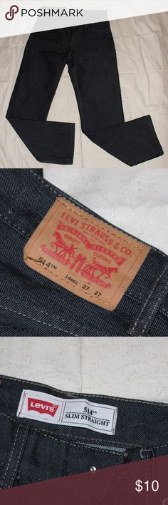 514 Levi's Boys Jeans Brand New - Never been worn Style 514 Levi's - Boys Size 14R (27X27) Make an offer or bundle for BIG SAVINGS! Levi's Bottoms Jeans