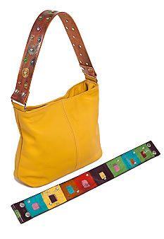 Katie Kalsi Sadie Medium Interchangeable Strap Shoulder Bag  http://www.belk.com/AST/Boutiques/Boutiques_Primary/KatieKalsi/PRD~2601336SADIE/Katie+Kalsi+Sadie+Medium+Interchangeable+Strap+Shoulder+Bag.jsp?off=3