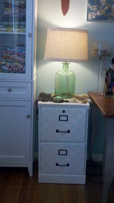 Temporary Nest Diy Filing Cabinet Makeover Cabinets File