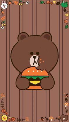 Lines Wallpaper, Brown Wallpaper, Bear Wallpaper, Wallpaper Backgrounds, Cellphone Wallpaper, Iphone Wallpaper, Teddy Bear Cartoon, Mickey Mouse Images, Cute Couple Cartoon