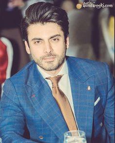 Pakistani Dramas, Pakistani Actress, Indian Men Fashion, Mens Fashion, Fawad Khan Beard, Beautiful Celebrities, Beautiful People, Indian Designer Suits, Indian Man