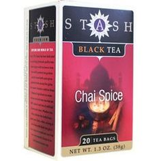 STASH TEA TEABLACKCHAI SPICE 20 BAG ** Check this awesome product by going to the link at the image.