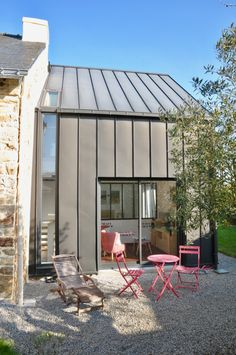 Micro House, House Extensions, Metal Homes, New Home Designs, Building A House, Architecture Design, New Homes, House Design, Deco