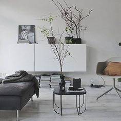 Living room inspiration | Menu FUWL Cage table available at www.istome.co.uk