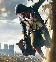 Assassins Creed Unity - Arno | Source: ssophoo.tumblr.com