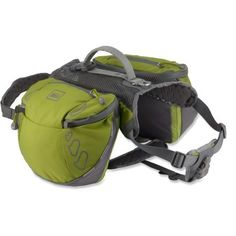 REI Ultra Dog Pack ---- Toby will definitely be carrying his weight on this trip. so excited to get in some long hikes.