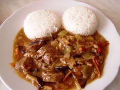 Vepřové plecko na pánvi po čínsku Food And Drink, Beef, Fine Dining, Cooking, Meat, Ox, Ground Beef, Steak