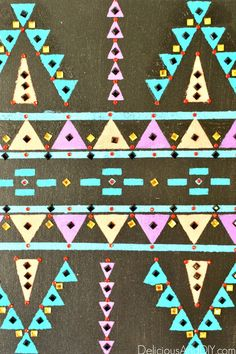 Bejeweled Aztec Art
