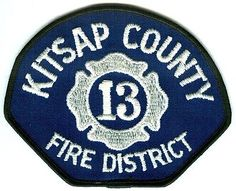 PATCH-WASHINGTON-KITSAP-COUNTY-FIRE-DISTRICT-13-DEPARTMENT-DEPT-RESCUE-EMS-OLD