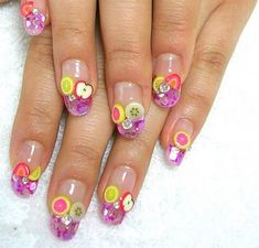 Fruity nails :)