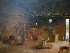 ALMEIDA JÚNIOR - Cozinha caipira Óleo sobre tela - 63 x 87 - 1895 Pinacoteca do Estado de São Paulo
