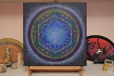 Image result for painting of sacred geometry