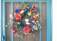 Mexican themed Christmas wreathe 2005