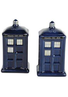 Peper-en-zoutstel - Zout- en Pepervaten van Doctor Who