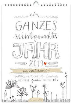 Creative Calendar, Diy Calendar, Photo Calendar, Handmade Design, Diy Design, Kalender Design, Birthday Calendar, Textiles