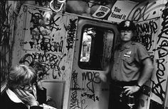 Black and White Photos Capture the Urban Grit of 1980s New York City - My Modern Met