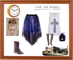 """""""What to wear to school. Part 2"""" by horsemania ❤ liked on Polyvore"""