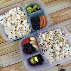 Pack your own movie theater snacks with @EasyLunchboxes containers