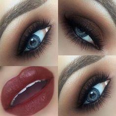 Perfect autumn/winter makeup