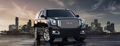From its confident lines to its signature Denali styling, this is one SUV that knows how to make a lasting impression.