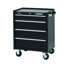 Durable and sturdy, this tool cabinet is great for outdoor storage of brushes, spatulas and wood chips.