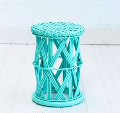 $89 - Our Child's Peacock Side Table has a table top of 30cm in diameter and is 42cm in height.  It also makes a fantastic stool.  Perfect height for your little darling.