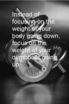 Weight. Yes!! I hate when ppl focus on a number on the scale.