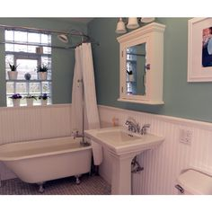 Bathrooms ❤ liked on Polyvore featuring home and home improvement