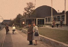 1965 West-Berlin - Planetarium am Insulaner, Munsterdamm 90  ☺