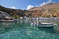 Steeped in ancient history and folklore, check out these beautiful villages in Crete. Greece Culture, Greece Holiday, Seaside Village, Crete Greece, Greece Travel, Greek Islands, Nice View, Tourism, Travel