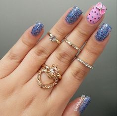 Items similar to Pink Bow Nail Charm- Nail Charms- Nail Jewelry- Nail Art-You Will Get 1 Pink Bow Nail Charm on Etsy Pink Nail Designs, Simple Nail Designs, Nails Design, Pink Nails, My Nails, Bow Nail Art, Nail Nail, Beautiful Nail Polish, Nail Charms